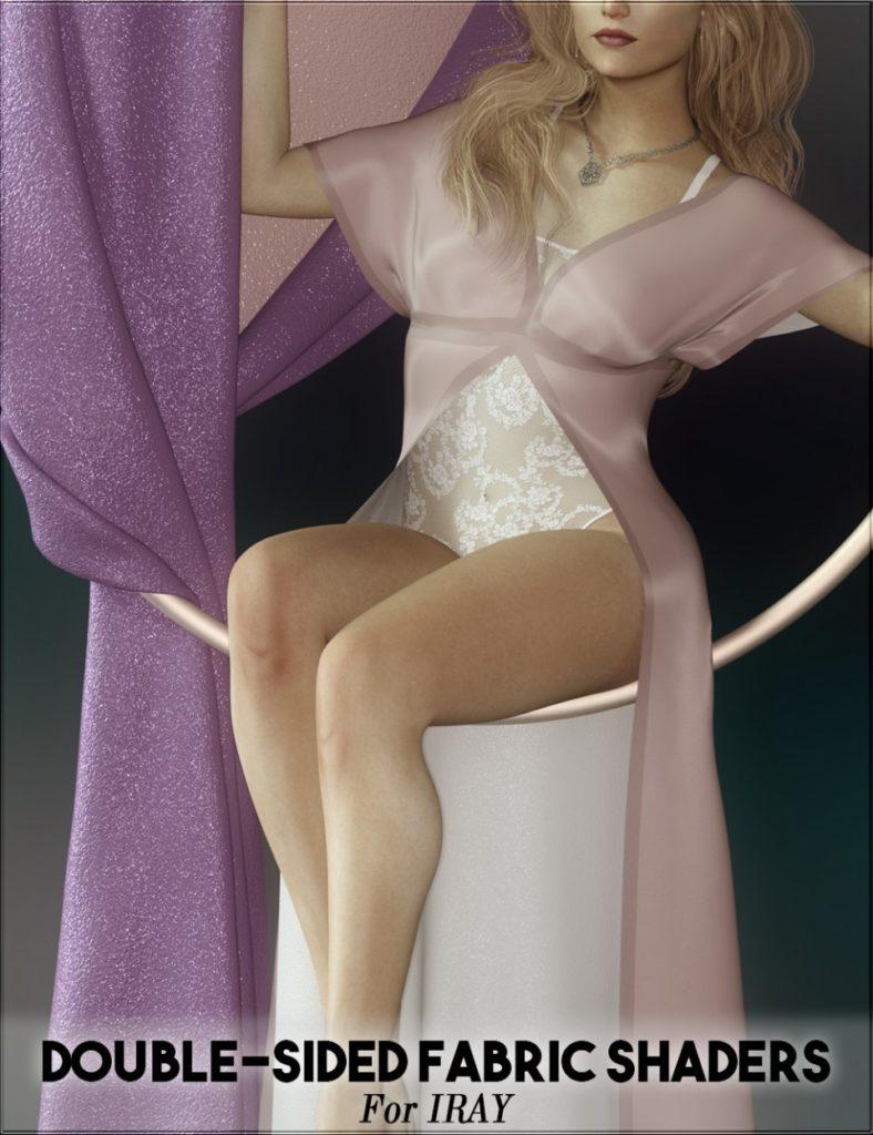 Double-Sided Iray Fabric Shaders_DAZ3D下载站