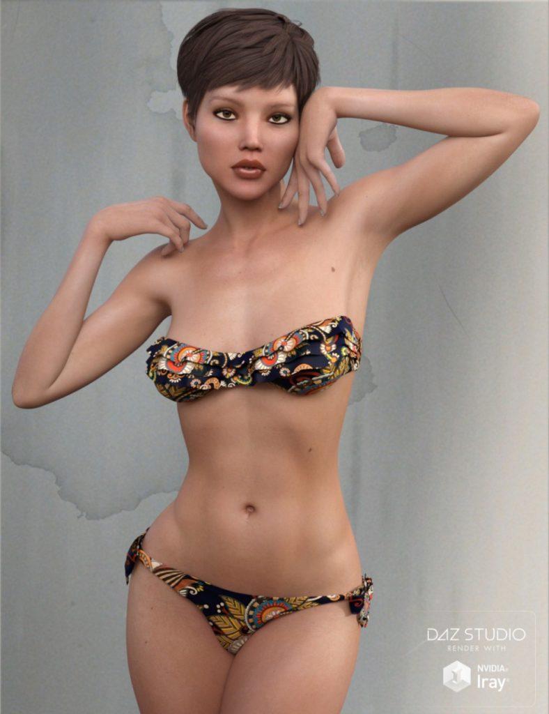 ECA Breeze for Genesis 3 Female_DAZ3D下载站