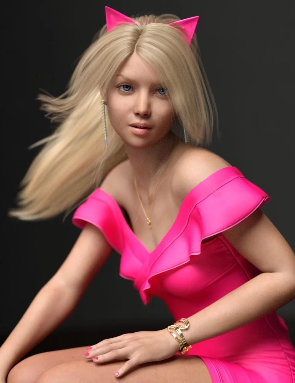 Elisabeta HD For Genesis 8 Female_DAZ3D下载站