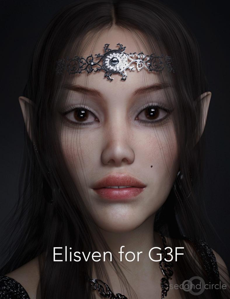 Elisven for G3F_DAZ3D下载站