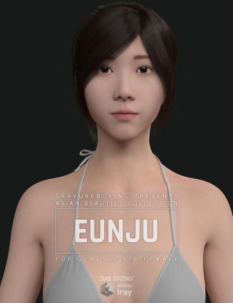 Eunju for Genesis 3 and 8 Female_DAZ3D下载站