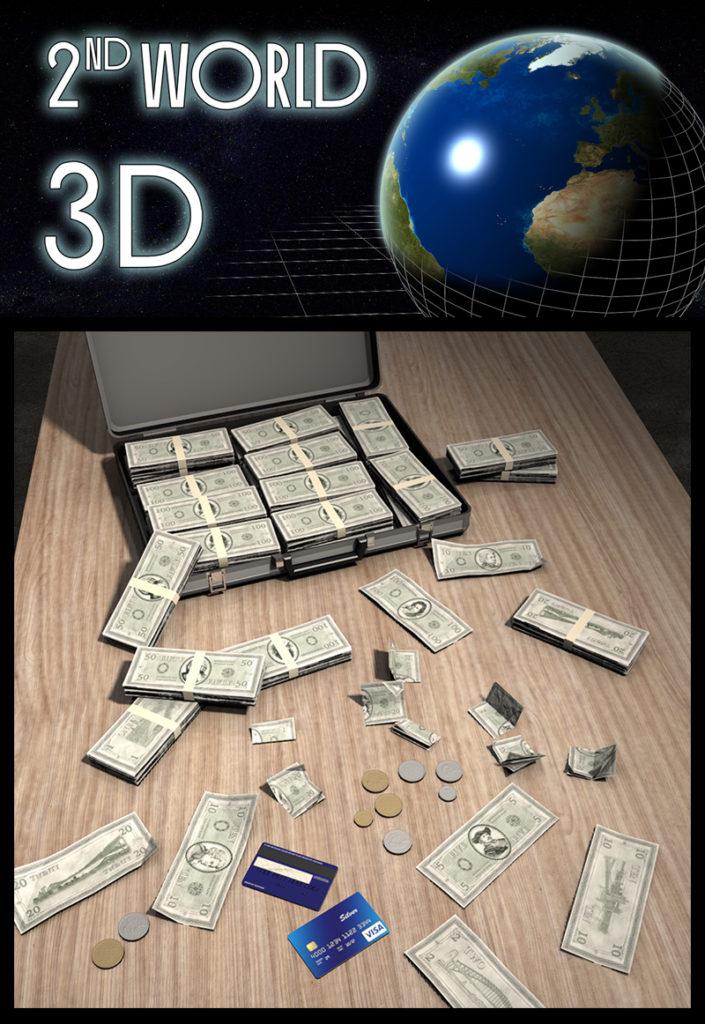 Everyday Items: Money_DAZ3D下载站