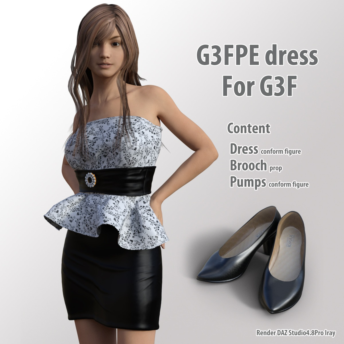 G3FPEdress for G3F_DAZ3D下载站