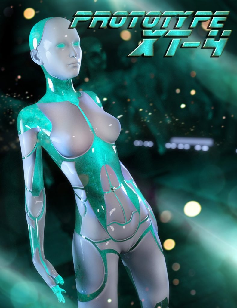 HP Prototype XT-4 for Genesis 3 Female_DAZ3D下载站