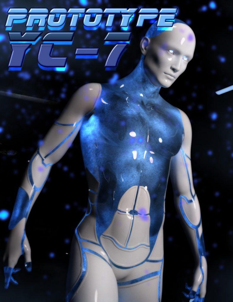 HP Prototype YC-7 for Genesis 3 Male_DAZ3D下载站