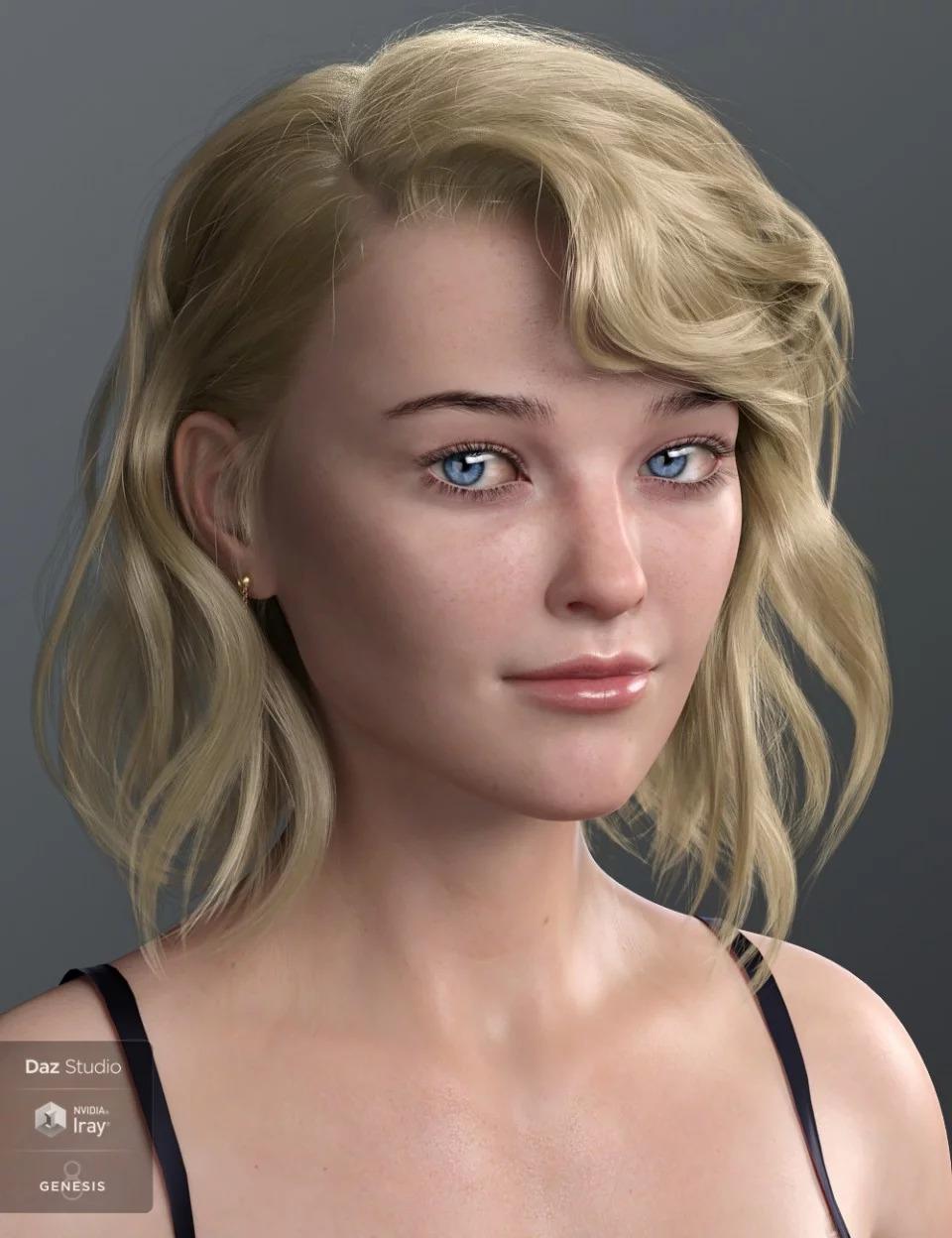 Haydina Hair for Genesis 8 Female(s)_DAZ3D下载站