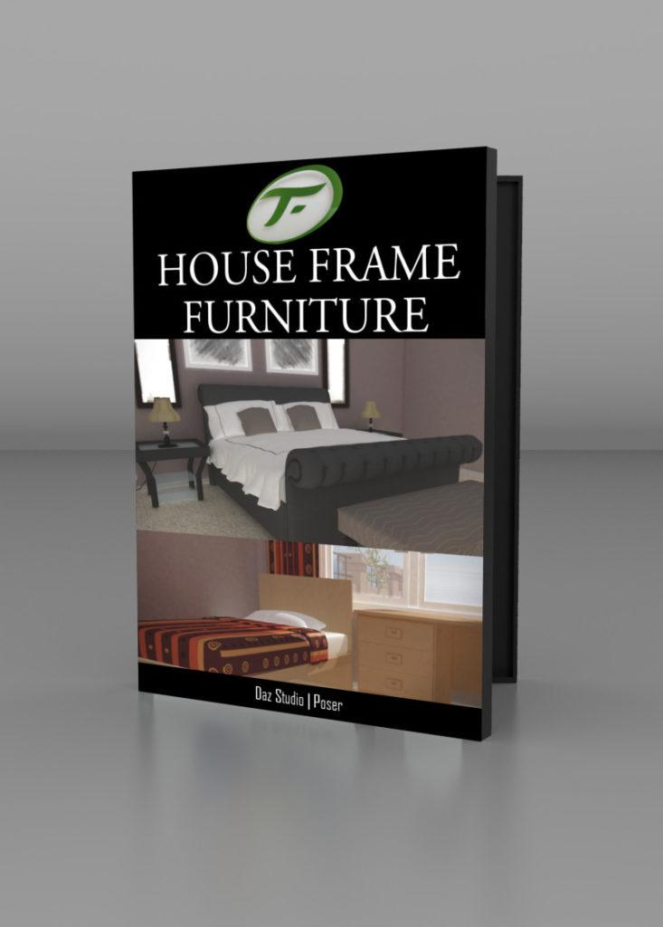 House Frame Furniture_DAZ3D下载站