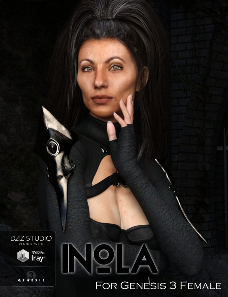 Inola for Genesis 3 Female_DAZ3D下载站