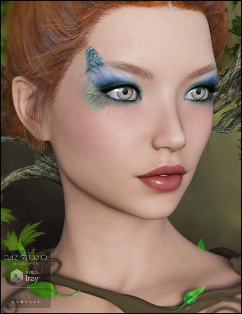 Irisa for Genesis 3 Female_DAZ3D下载站