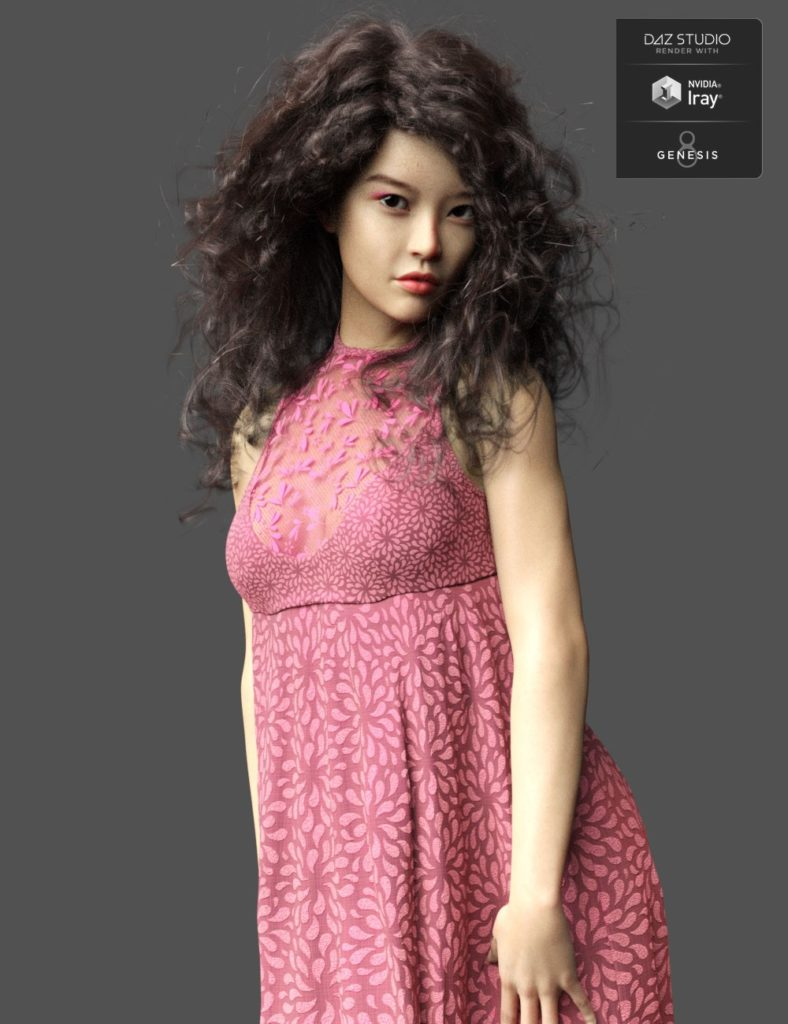 Mila HD for Genesis 8 Female_DAZ3D下载站