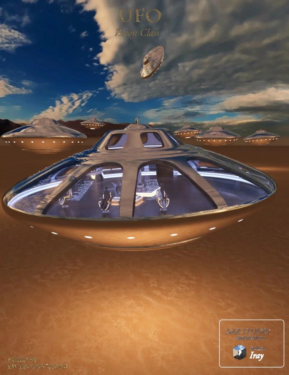 PW UFO Recon Class_DAZ3D下载站
