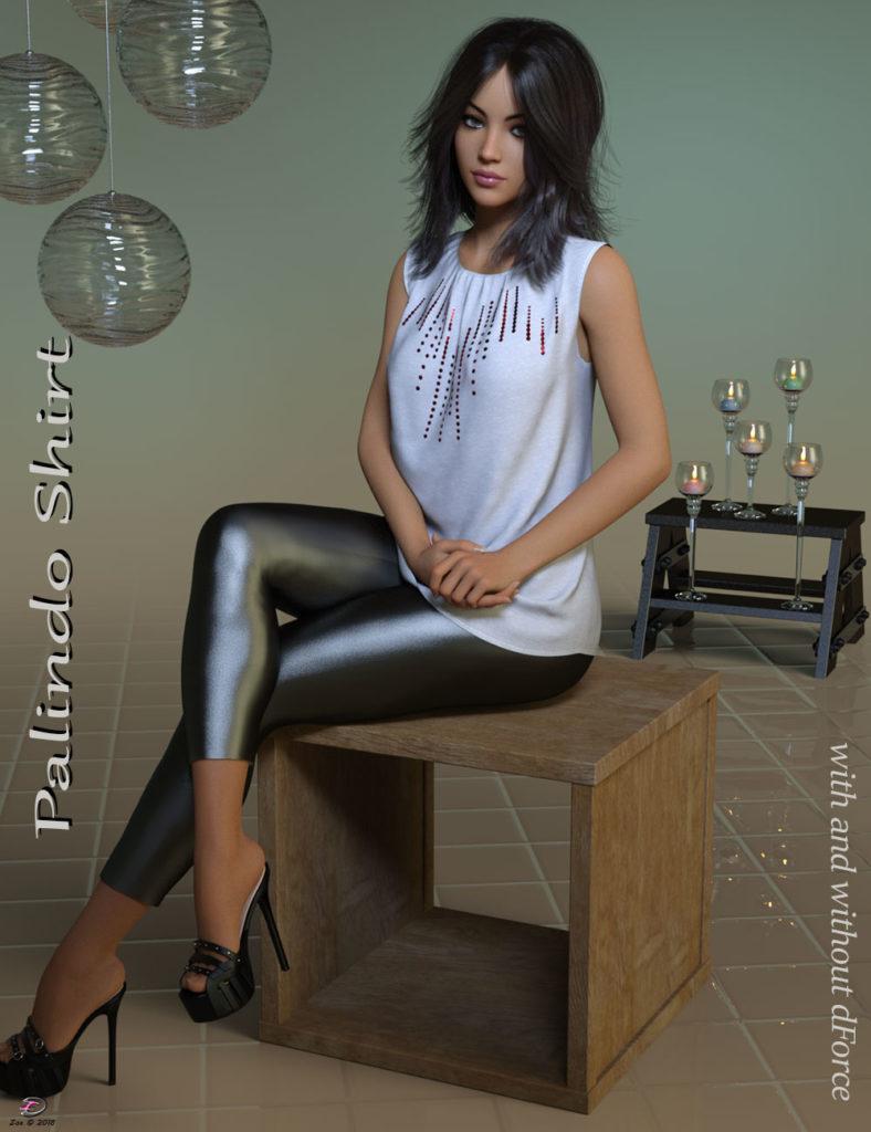 Palindo Shirt for Genesis 8 Females_DAZ3D下载站