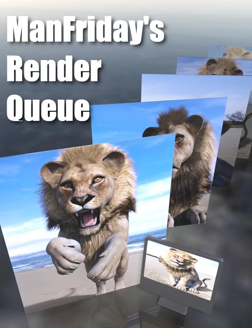 Render Queue_DAZ3D下载站