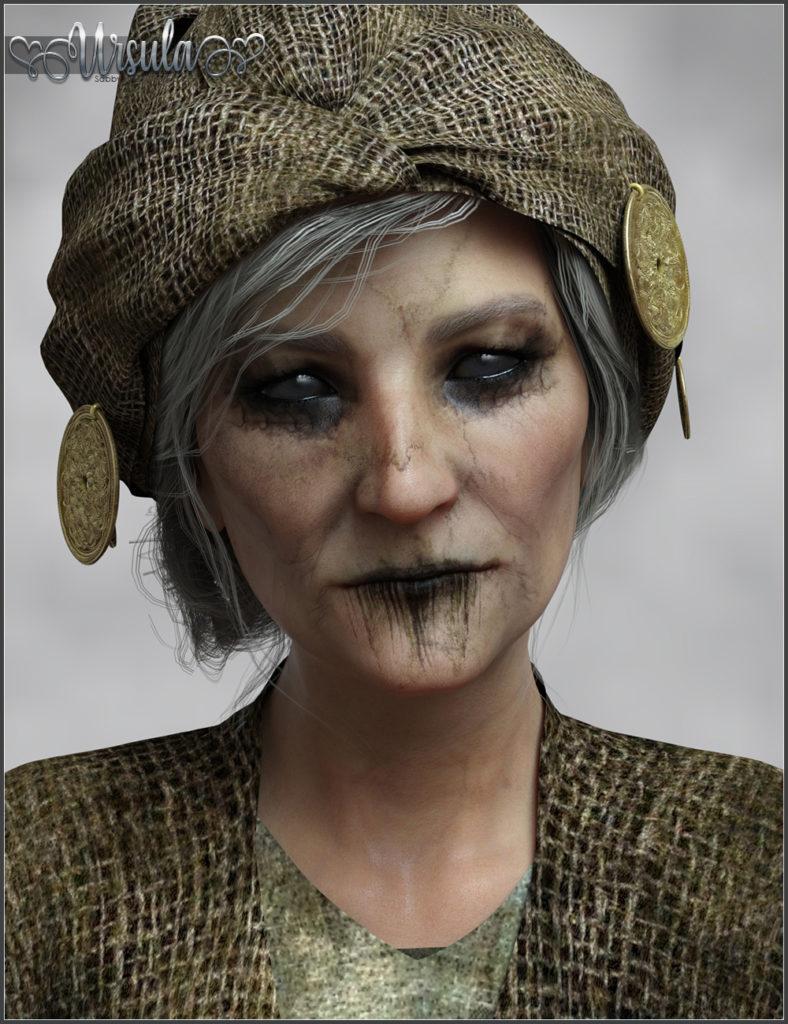 SASE Ursula for Genesis 8_DAZ3D下载站