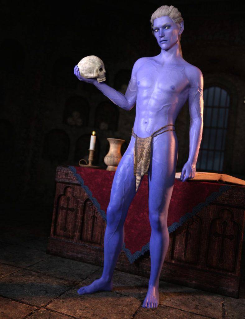 SY The Blue Ones Genesis 3 Male_DAZ3D下载站