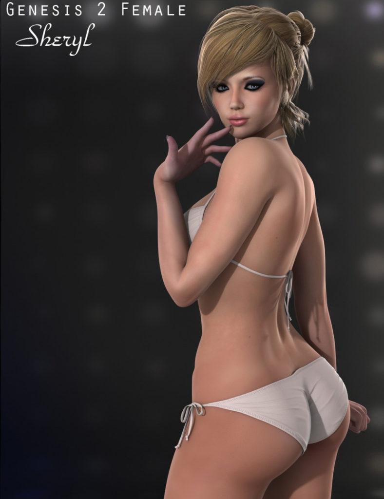 Sheryl for Genesis 2 Female(s)_DAZ3D下载站
