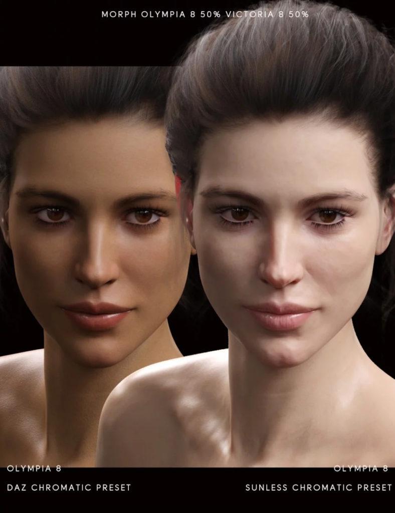 Sunless for Genesis 8 Female(s)_DAZ3D下载站