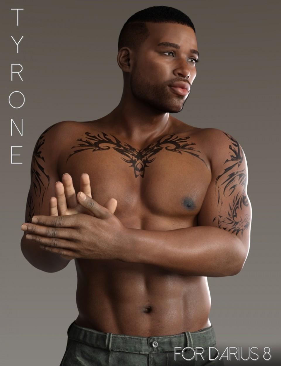 Tyrone for Darius 8_DAZ3D下载站