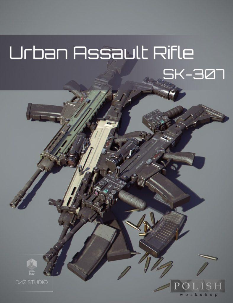 Urban Assault Rifle SK-307_DAZ3D下载站