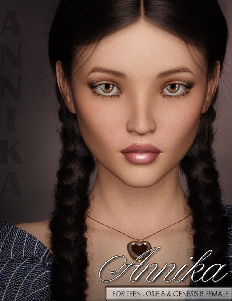 VYK Annika for G8F & Teen Josie 8_DAZ3D下载站
