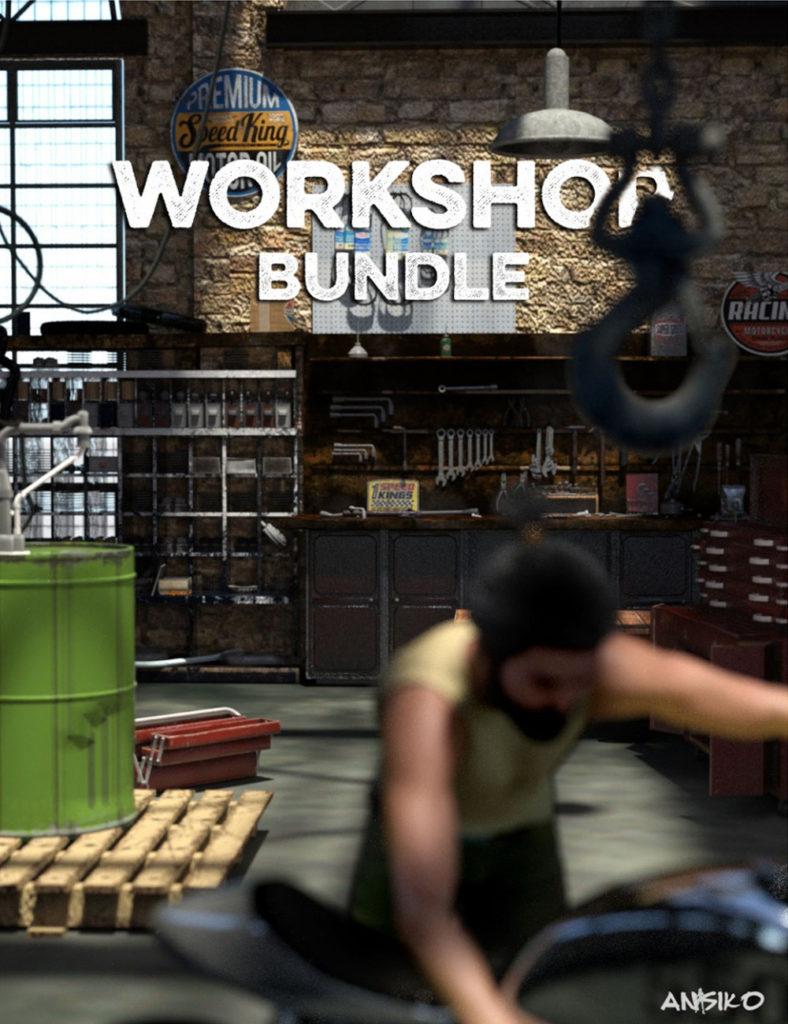 Workshop Bundle_DAZ3D下载站