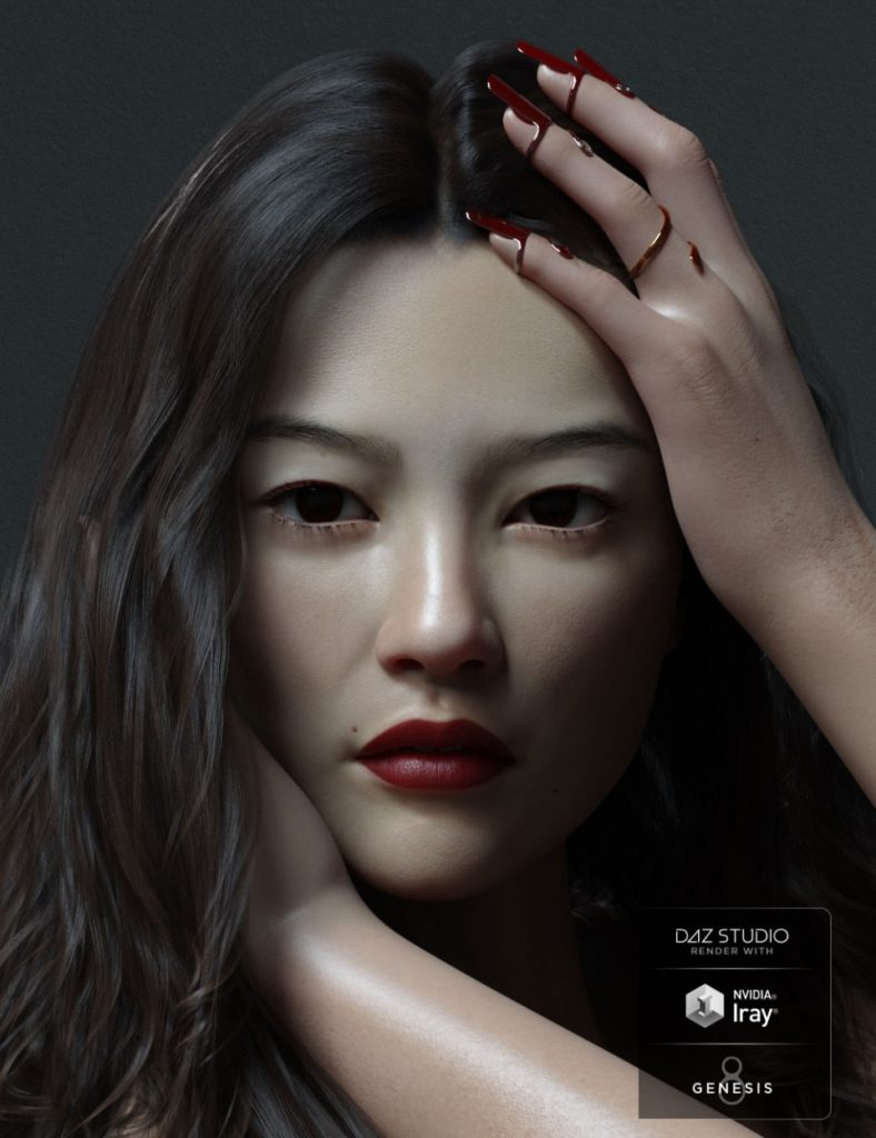 Xia HD for Genesis 8 Female_DAZ3D下载站