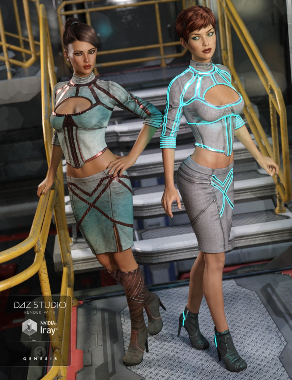 Alloy Fusion Outfit Textures_DAZ3D下载站