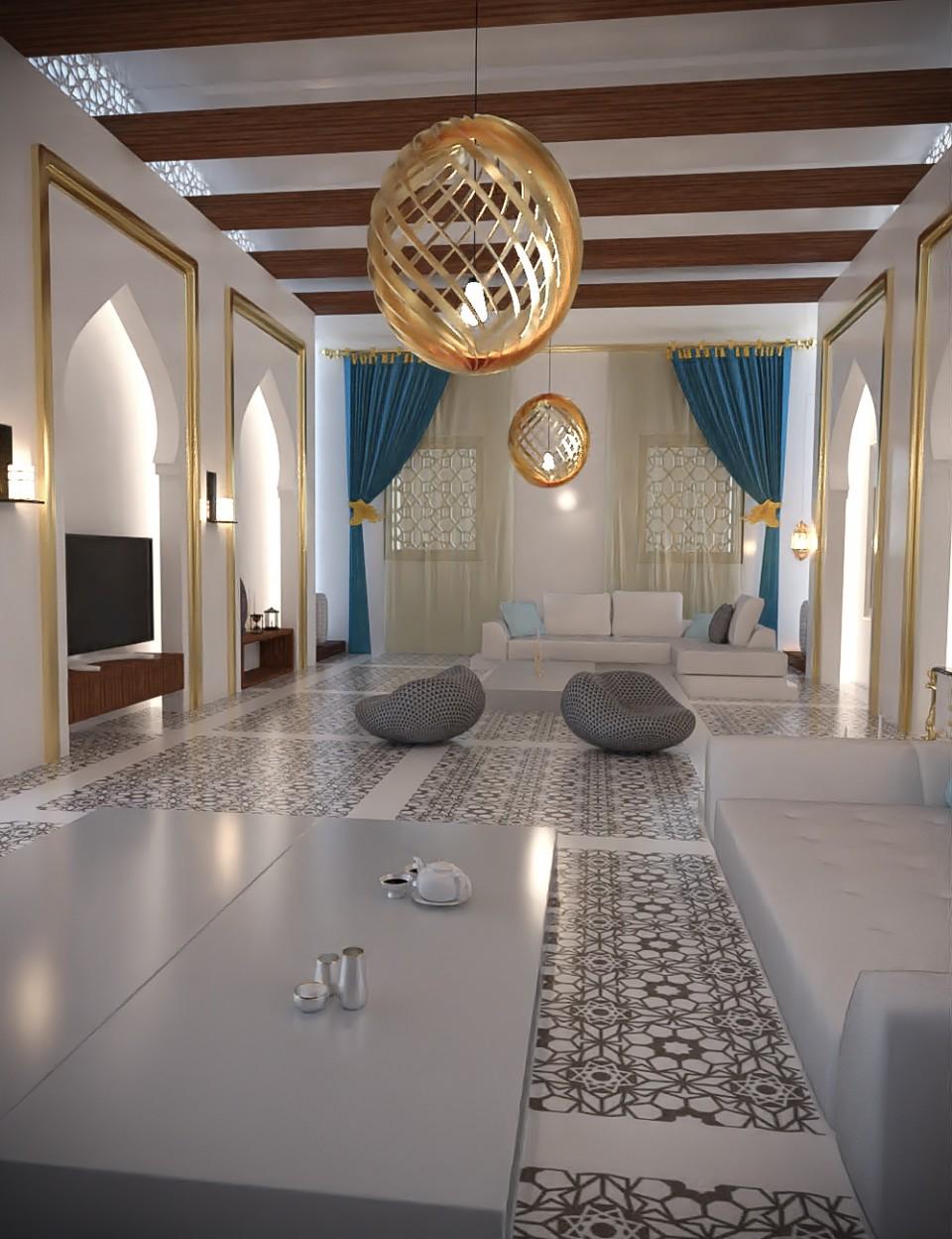 Arabic Anteroom_DAZ3D下载站