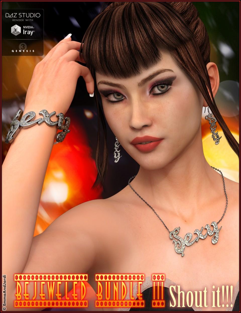 Bejeweled Bundle 3: Shout It_DAZ3D下载站