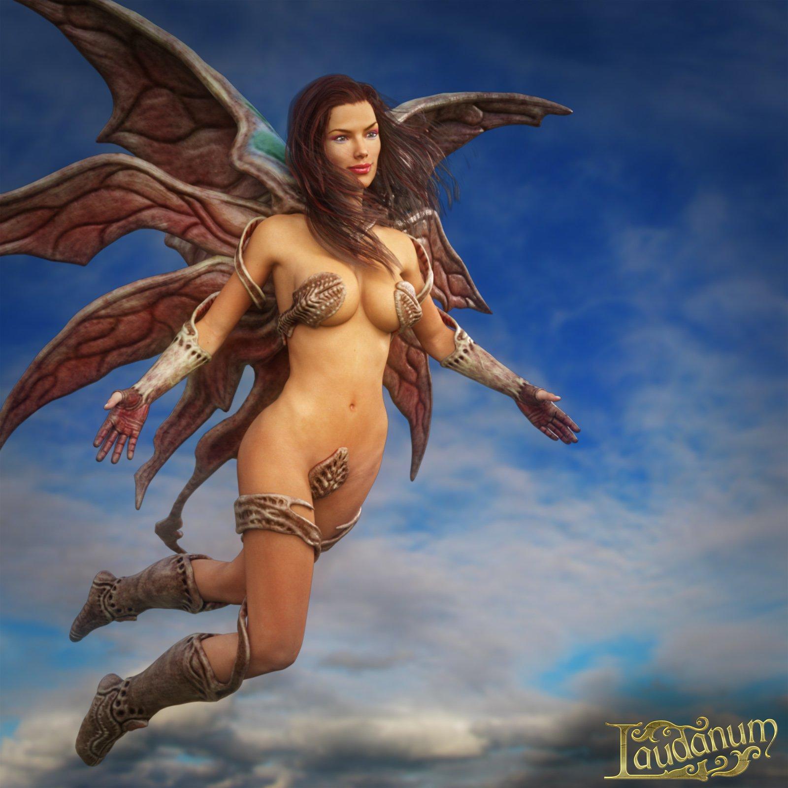 Biosuit Butterfly for Genesis 3 Female_DAZ3D下载站