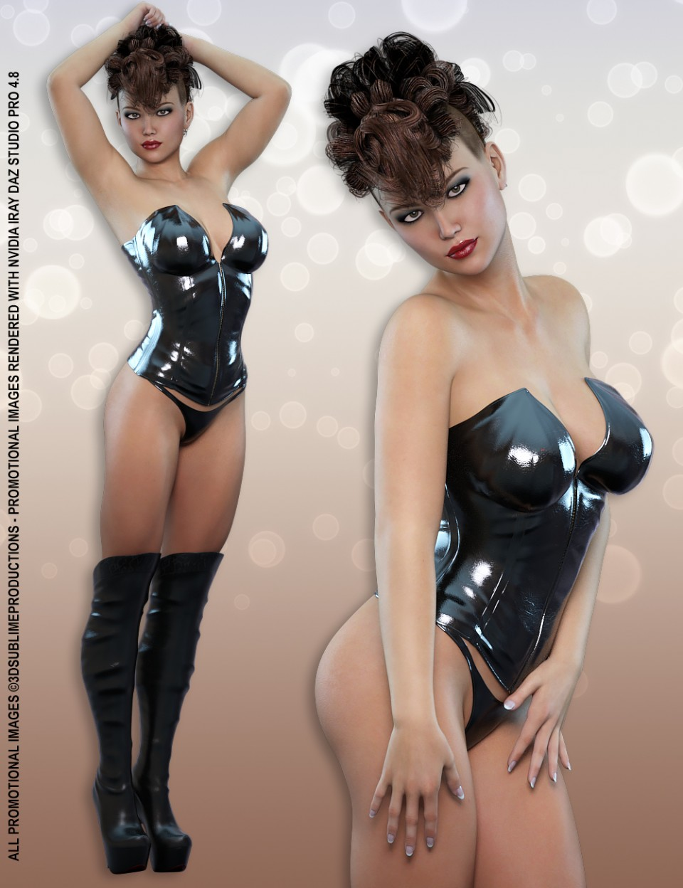 Body by Sublime – Body Shapes for Genesis 3 Female(s)_DAZ3D下载站