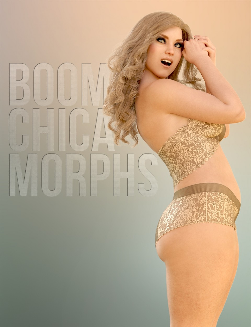 Boom Chica Morphs HD for Genesis 8 Female_DAZ3D下载站