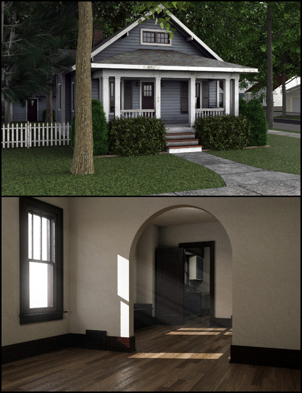 C3D Neighborhood XPack 1_DAZ3D下载站