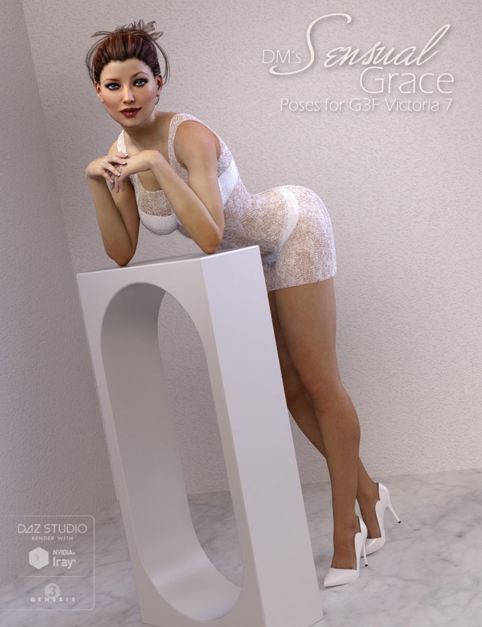 DM's Sensual Grace_DAZ3D下载站
