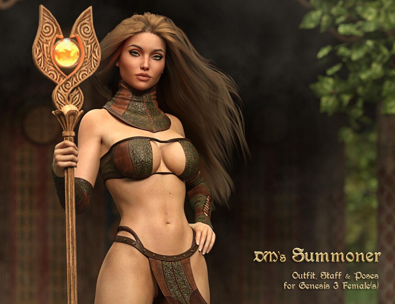 DMs Summoner – Genesis 3F_DAZ3D下载站