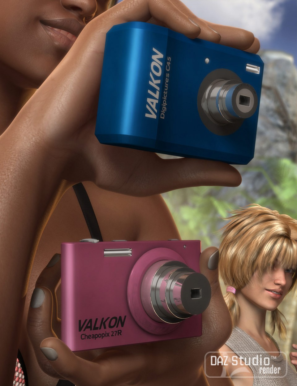 Digital Cameras_DAZ3D下载站