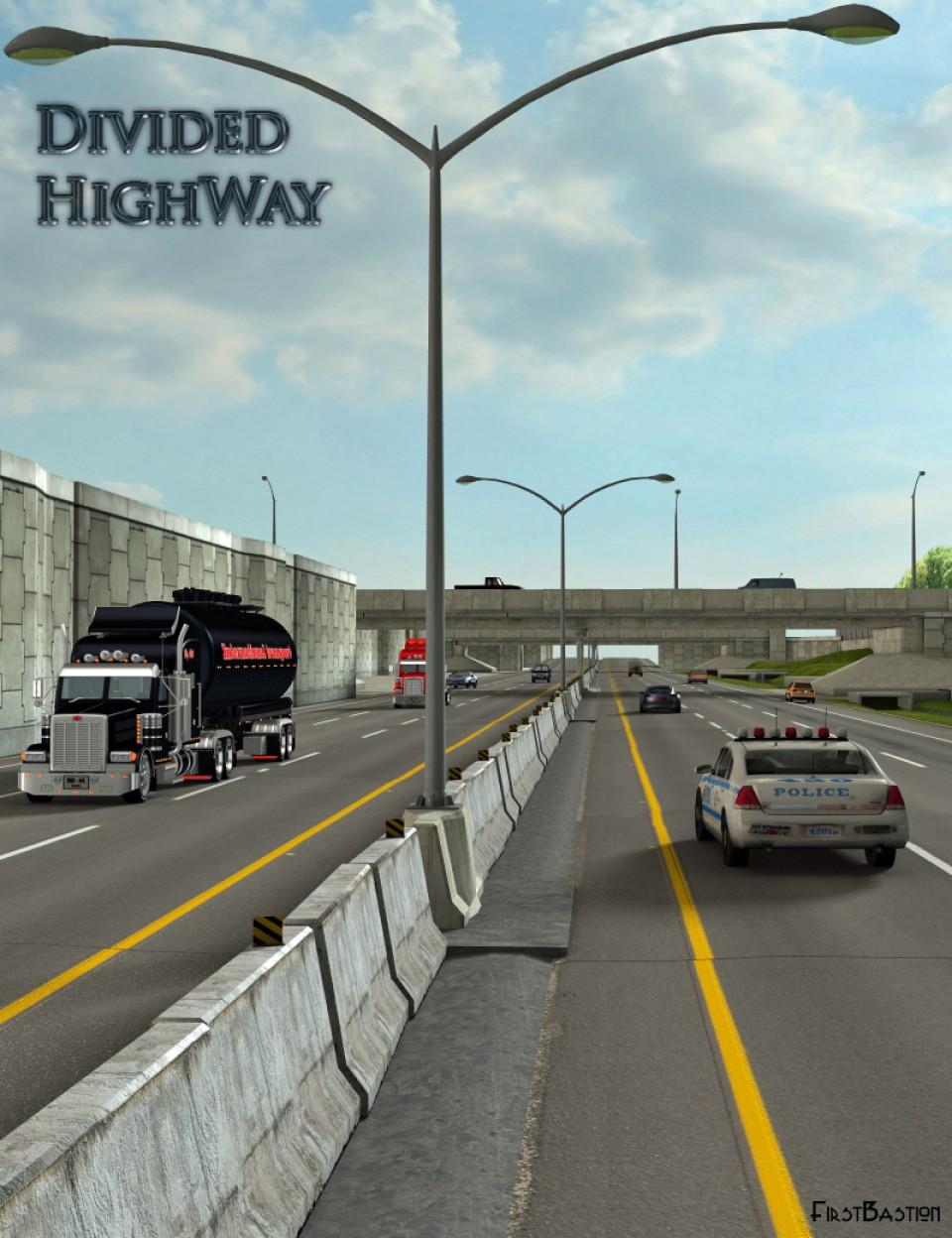 Divided Highway_DAZ3D下载站