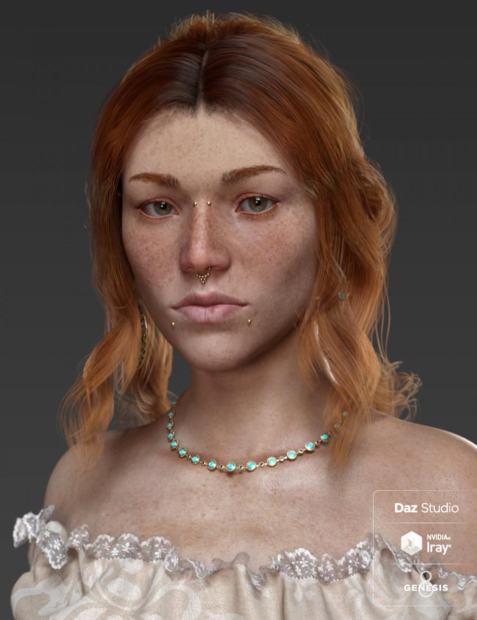 Ester for Genesis 8 Female_DAZ3D下载站