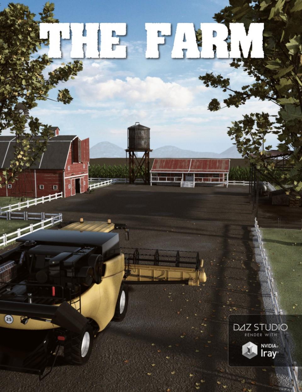 Farm_DAZ3D下载站