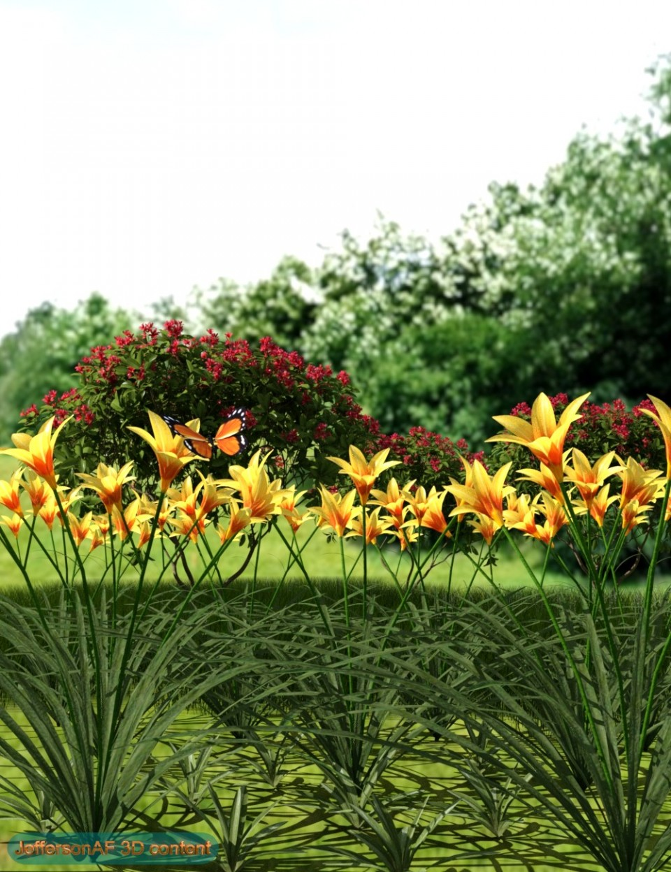 Iray Plants Pack_DAZ3D下载站
