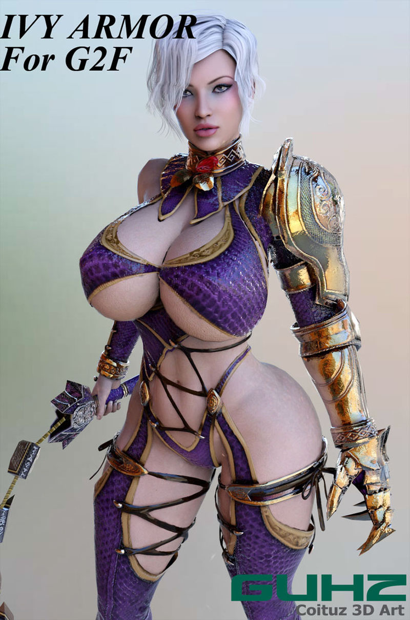 Ivy Armor For G2F_DAZ3D下载站