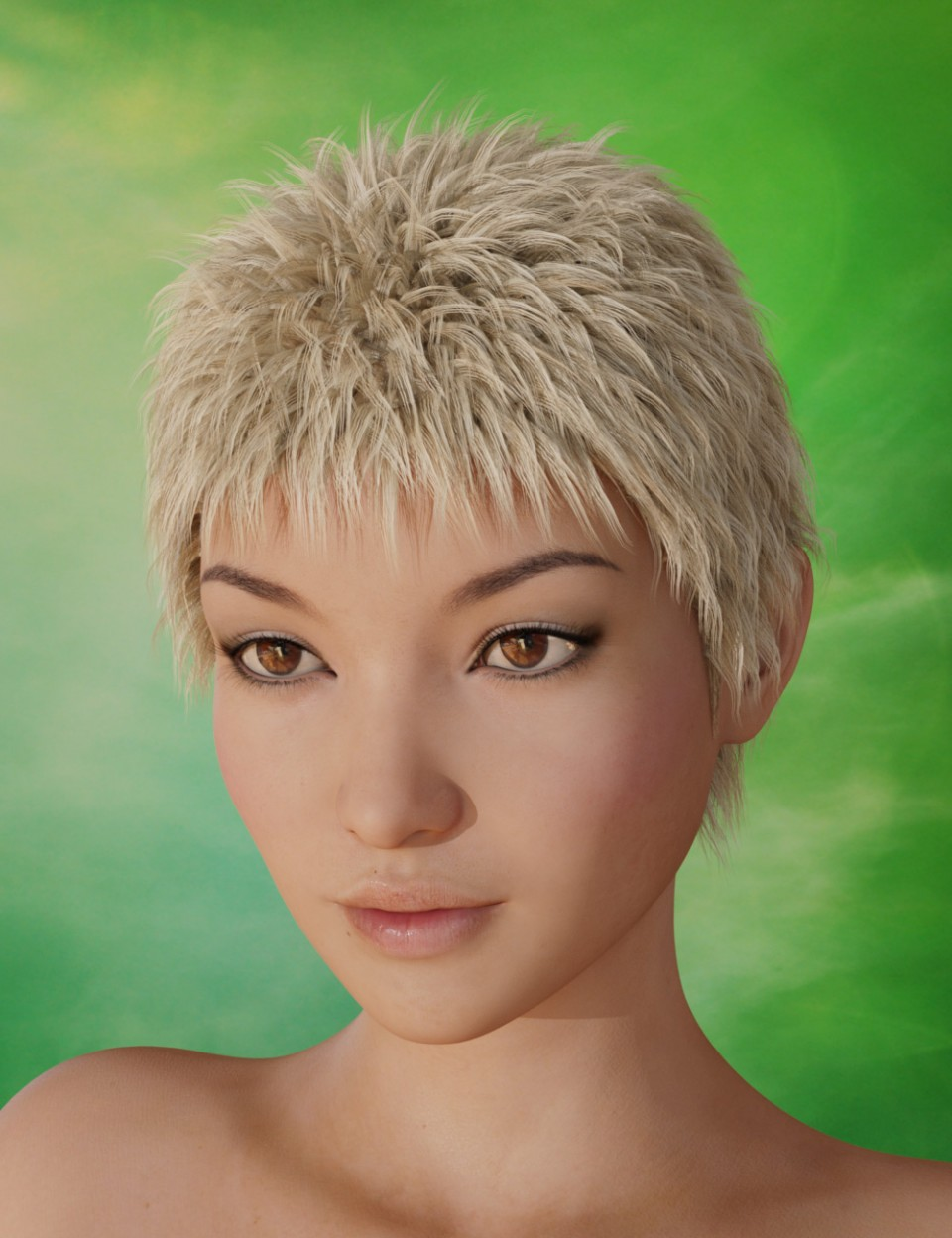 Magno Hair for Genesis 3 Female(s) and Genesis 3 Male(s)_DAZ3D下载站