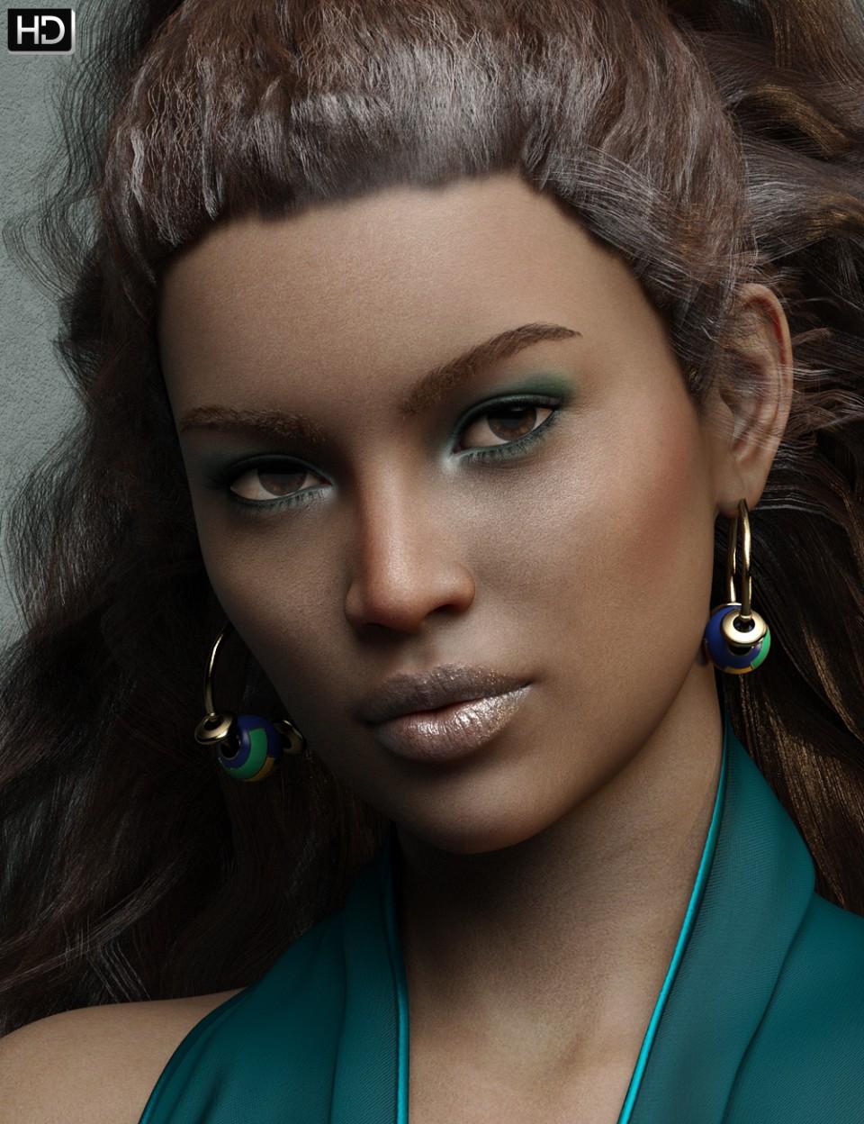 Makayla HD for Genesis 8 Female_DAZ3D下载站