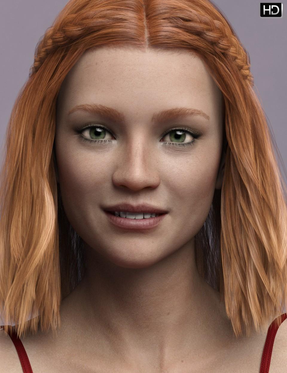 Matilda HD for Genesis 8 Female_DAZ3D下载站