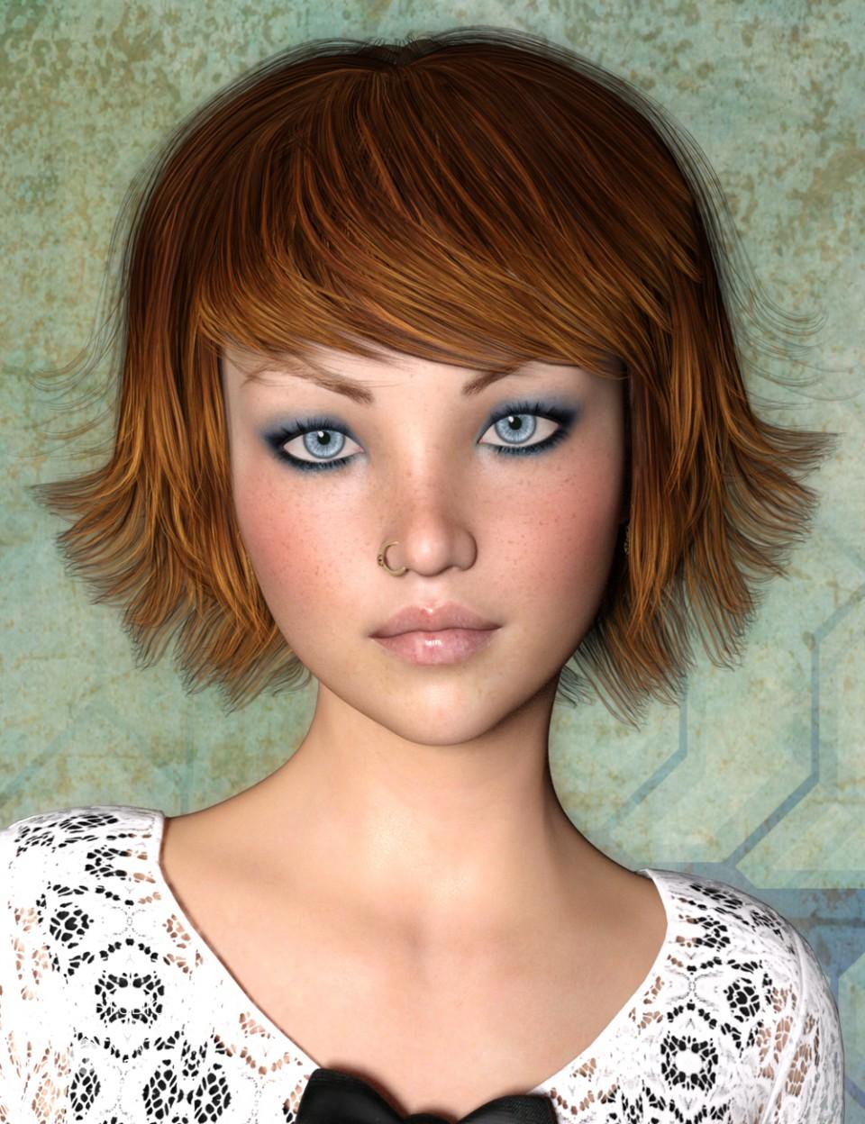May Hair for Genesis 3 Female(s)_DAZ3D下载站