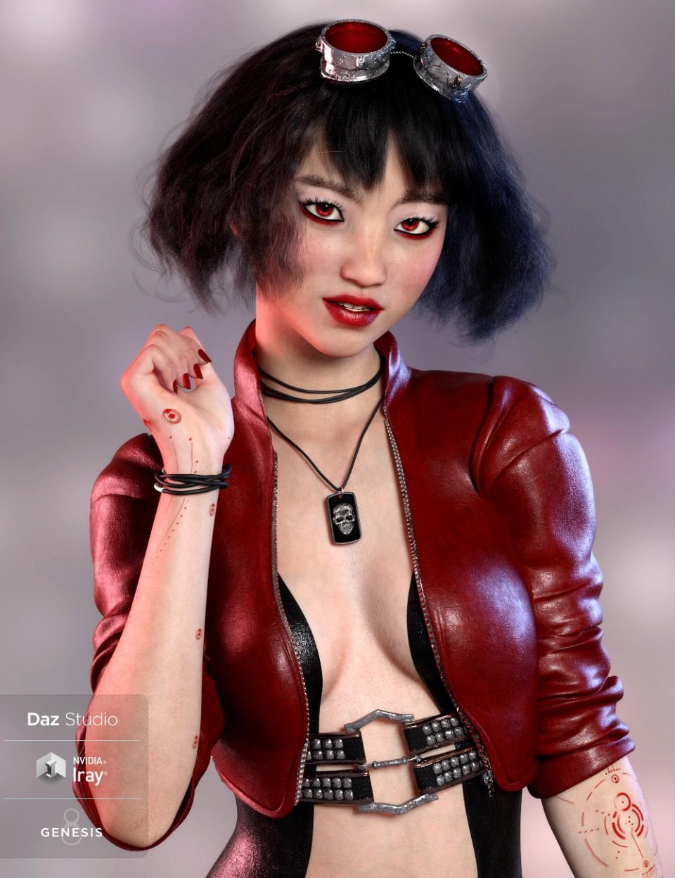 MingYue for Tika 8_DAZ3D下载站