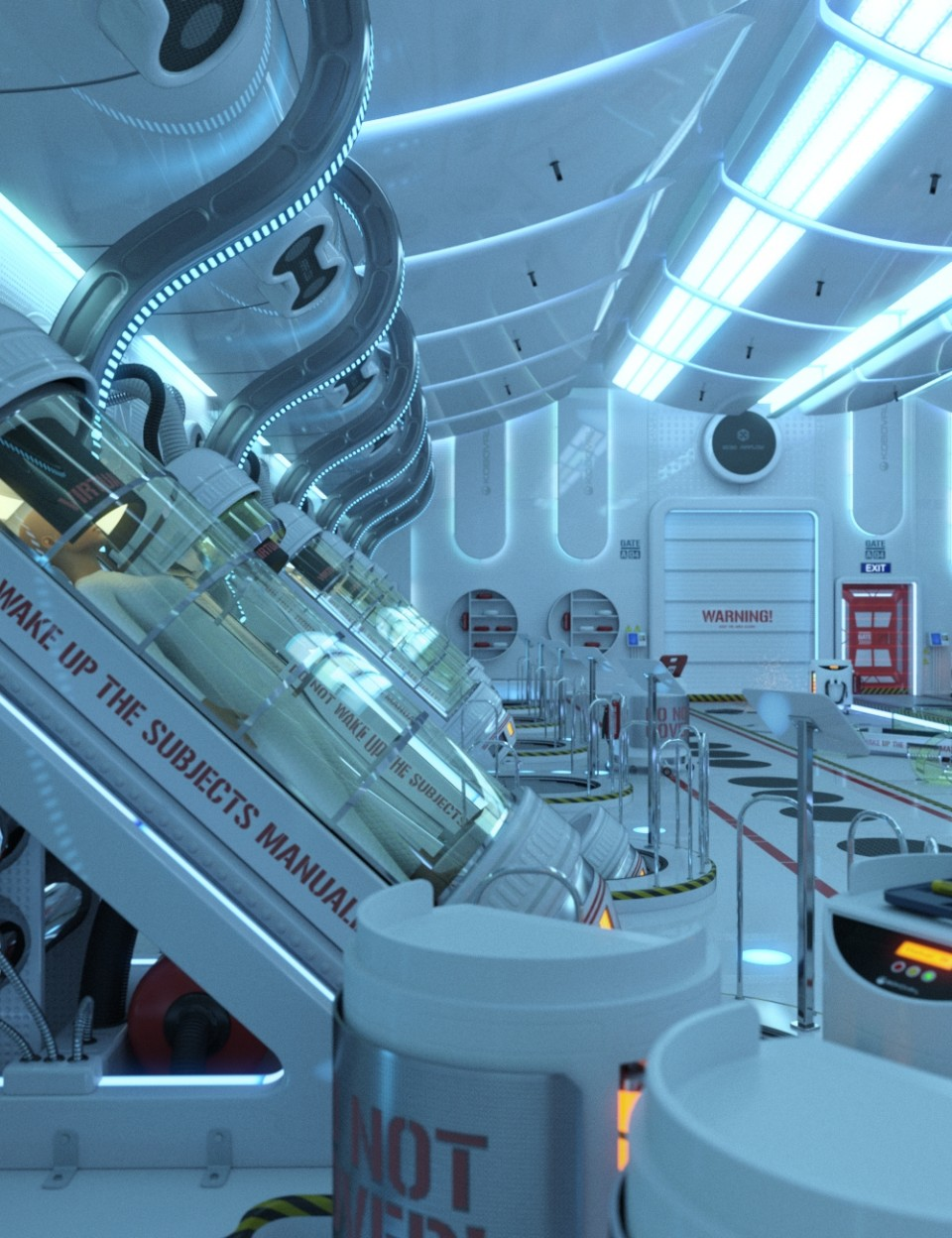 SC20 Hibernation Chamber_DAZ3D下载站