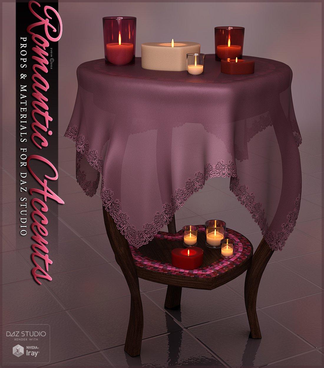 SVs Romantic Accents_DAZ3D下载站