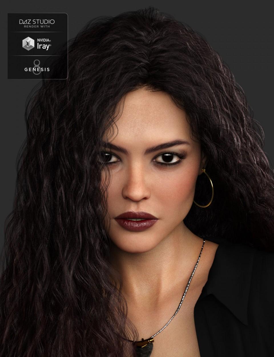 Serayes HD for Genesis 8 Female_DAZ3D下载站