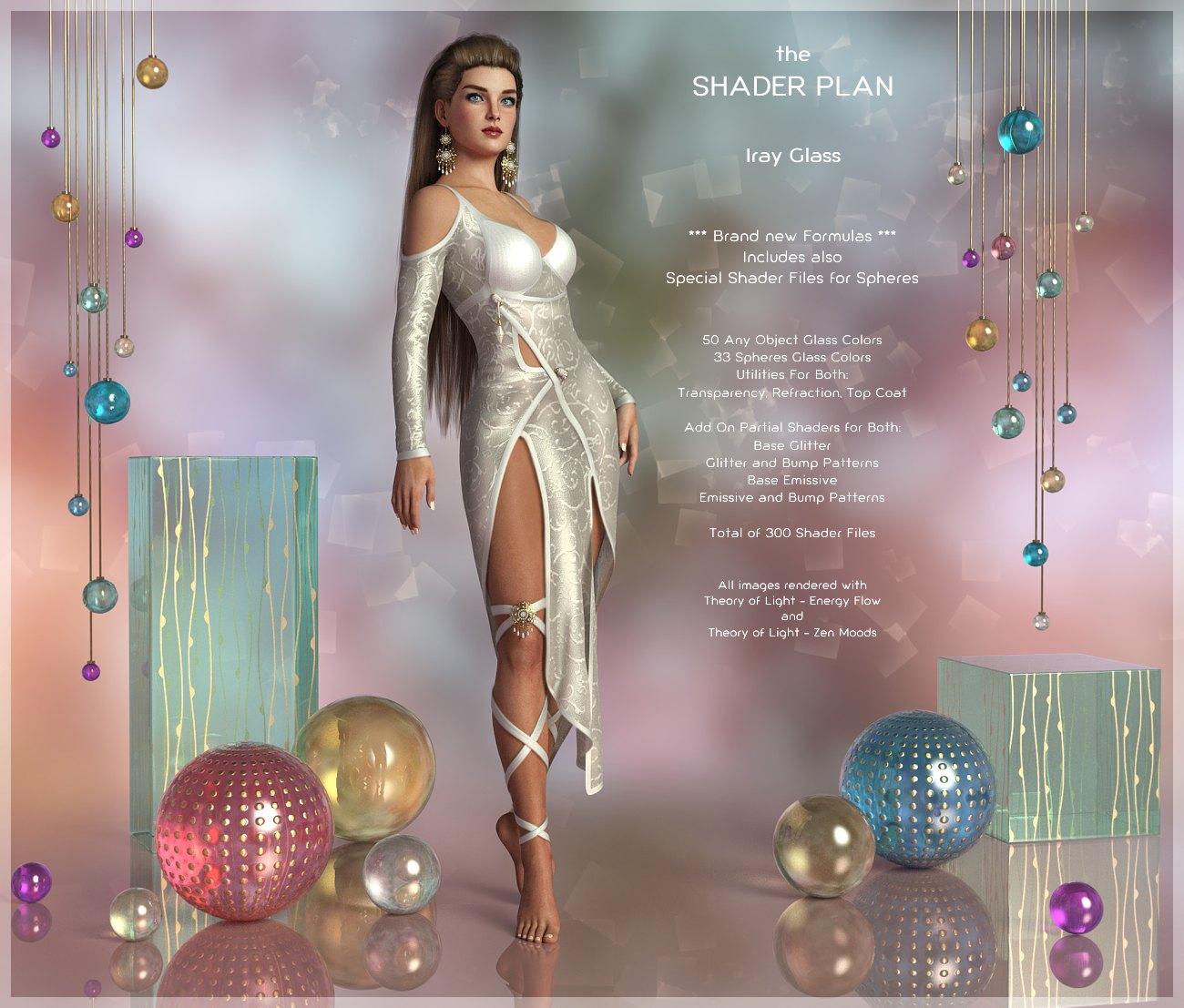 Shader Plan – Iray Glass_DAZ3D下载站
